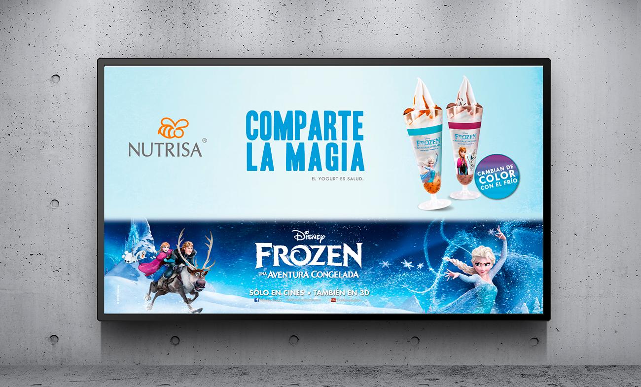 Campaña Publicitaria con licencia de marca Nutrisa - Frozen (Disney) 3